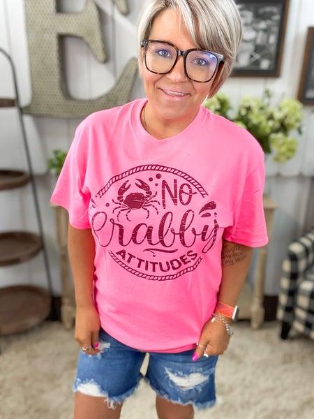 * No Crabby Attitudes T-Shirt
