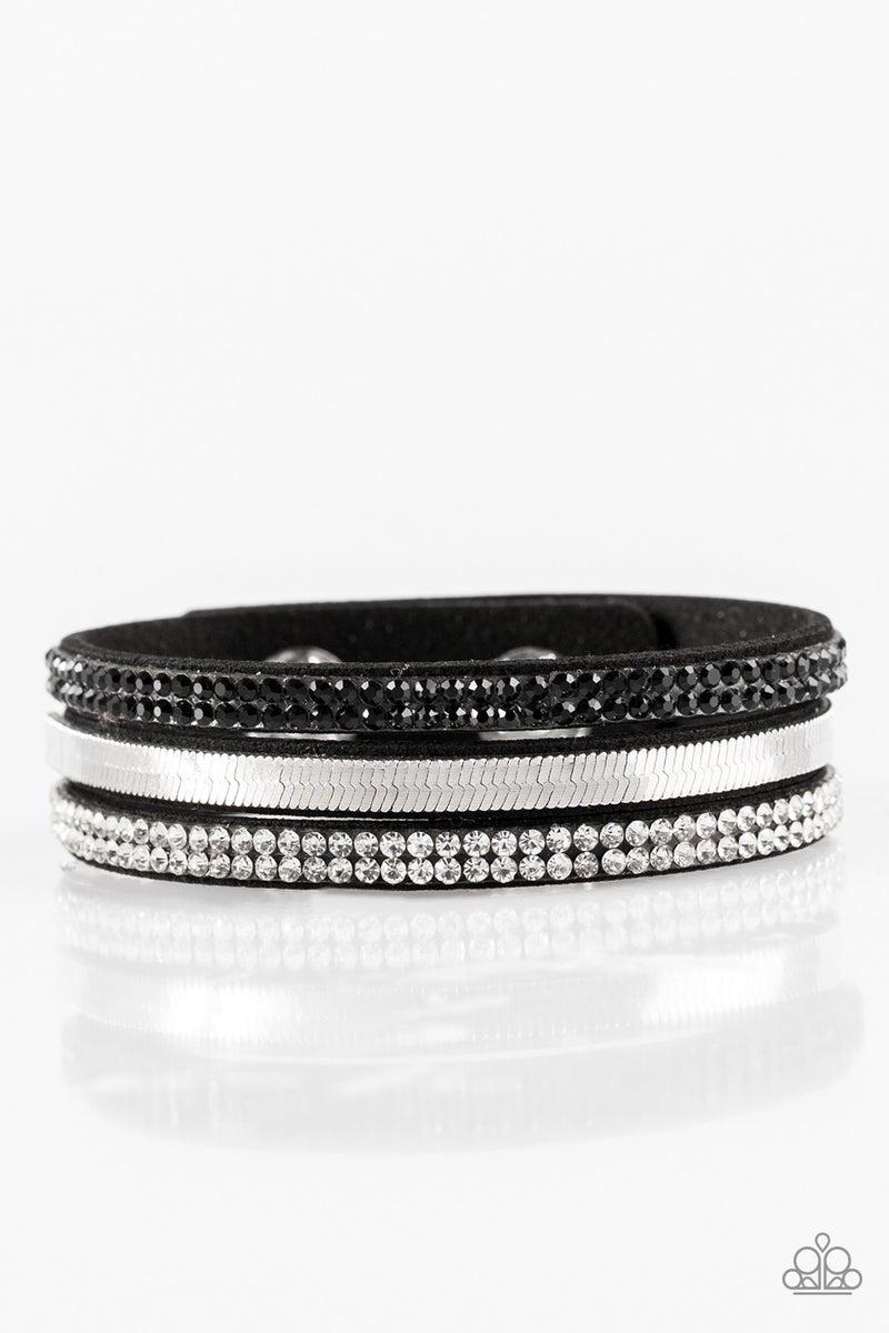 I Mean Business - Black Bracelet