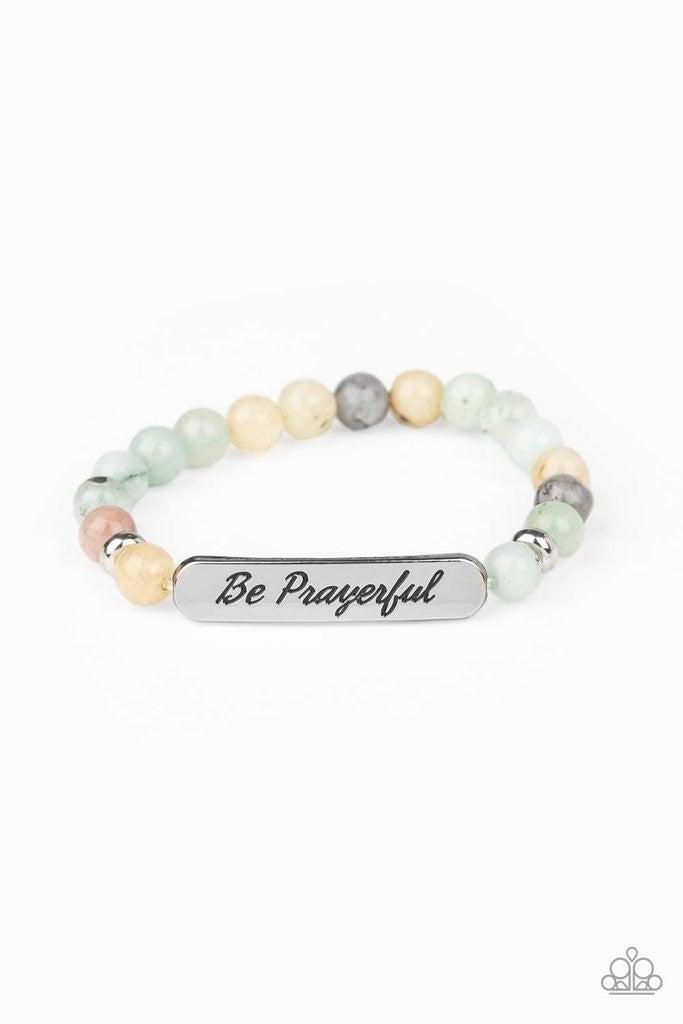 Be Prayerful Green Stone Stretch