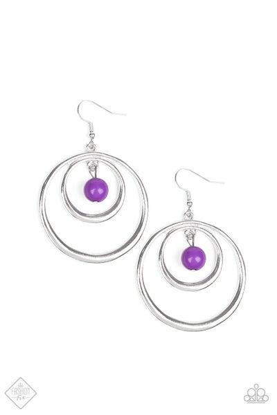 Diva Pop - Purple Beads
