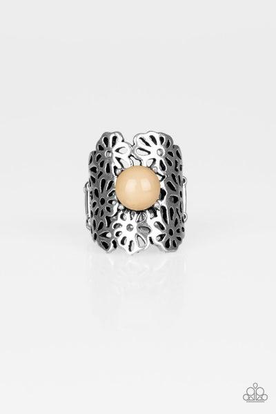 Flower Shower - Brown Ring