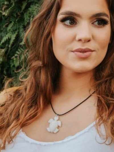 TAGUA by Soraya- Galapagos Turtle Necklace *Final Sale*