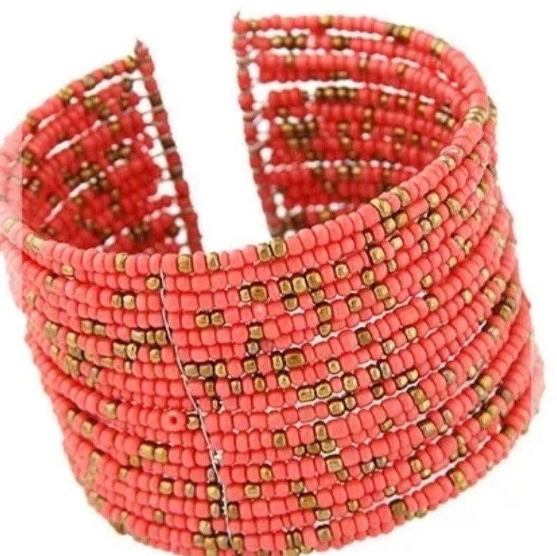 Handmade Multi Layer Beaded Bracelet *Final Sale*