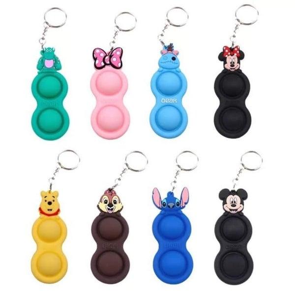 Simple Dimple Disney Fidget Keychains