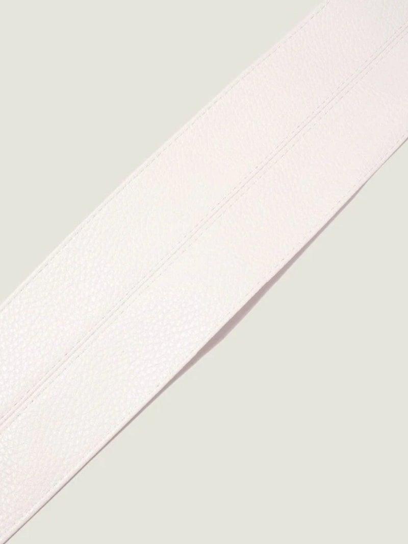 White Wraparound Belt *Final Sale*
