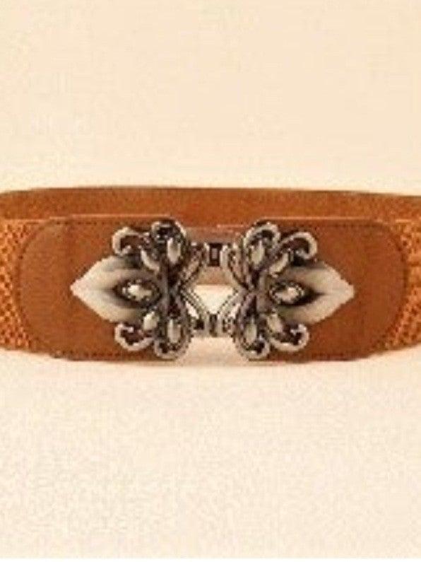 Curvy Filigree Stretchy Belt *Final Sale*