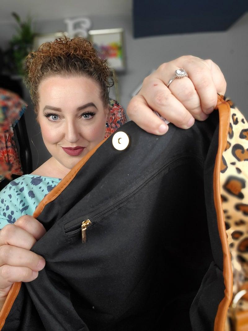 Leopard Tote *Final Sale*