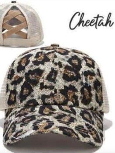 Crisscross Back Hats