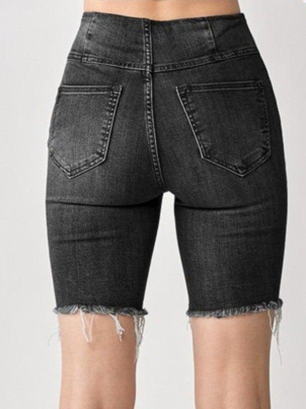 Risen Brand High Rise Pull On Shorts