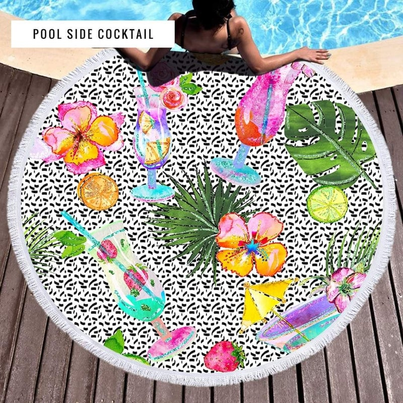 """PRE-ORDER ONLY 60"""" Polyester Quick Dry Sand Resistant Towel"""