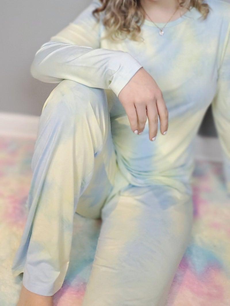 Tie Dye Print PJ Set *Final Sale*