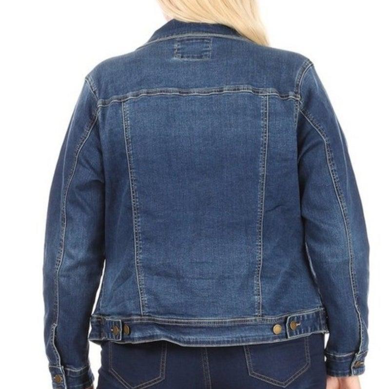 Haute Curve Premium Denim Jacket *Final Sale*
