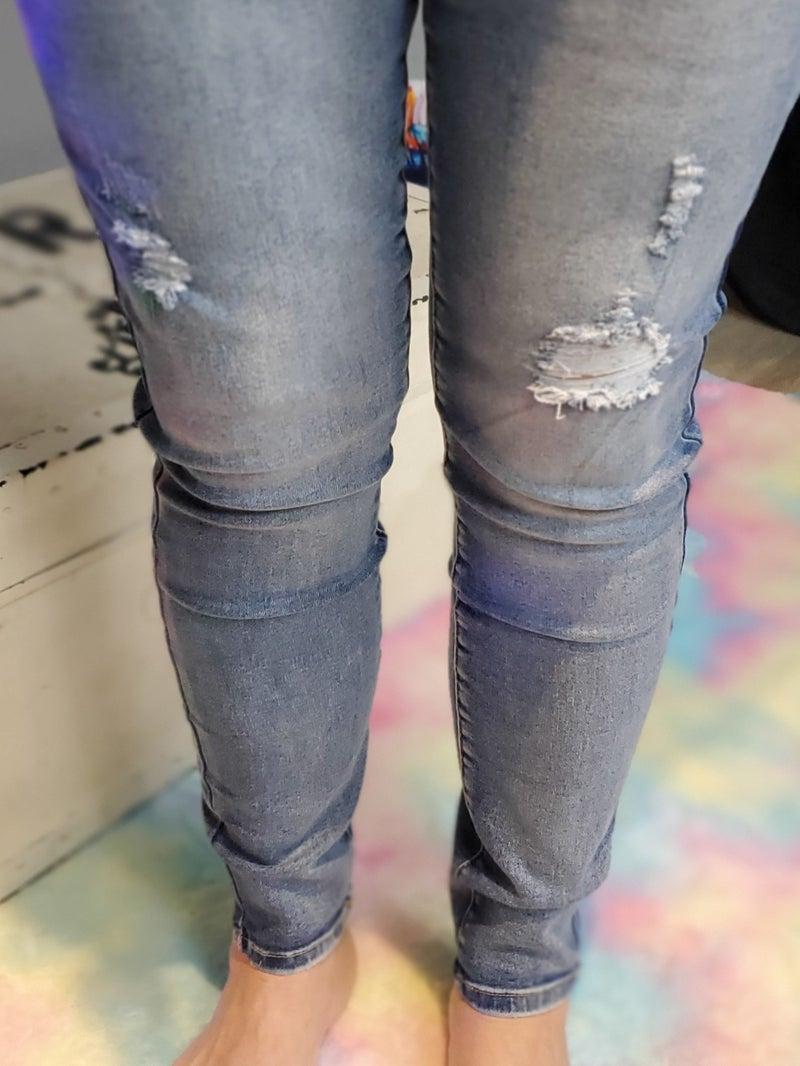 Wannabettabutt Midrise Skinny Jean