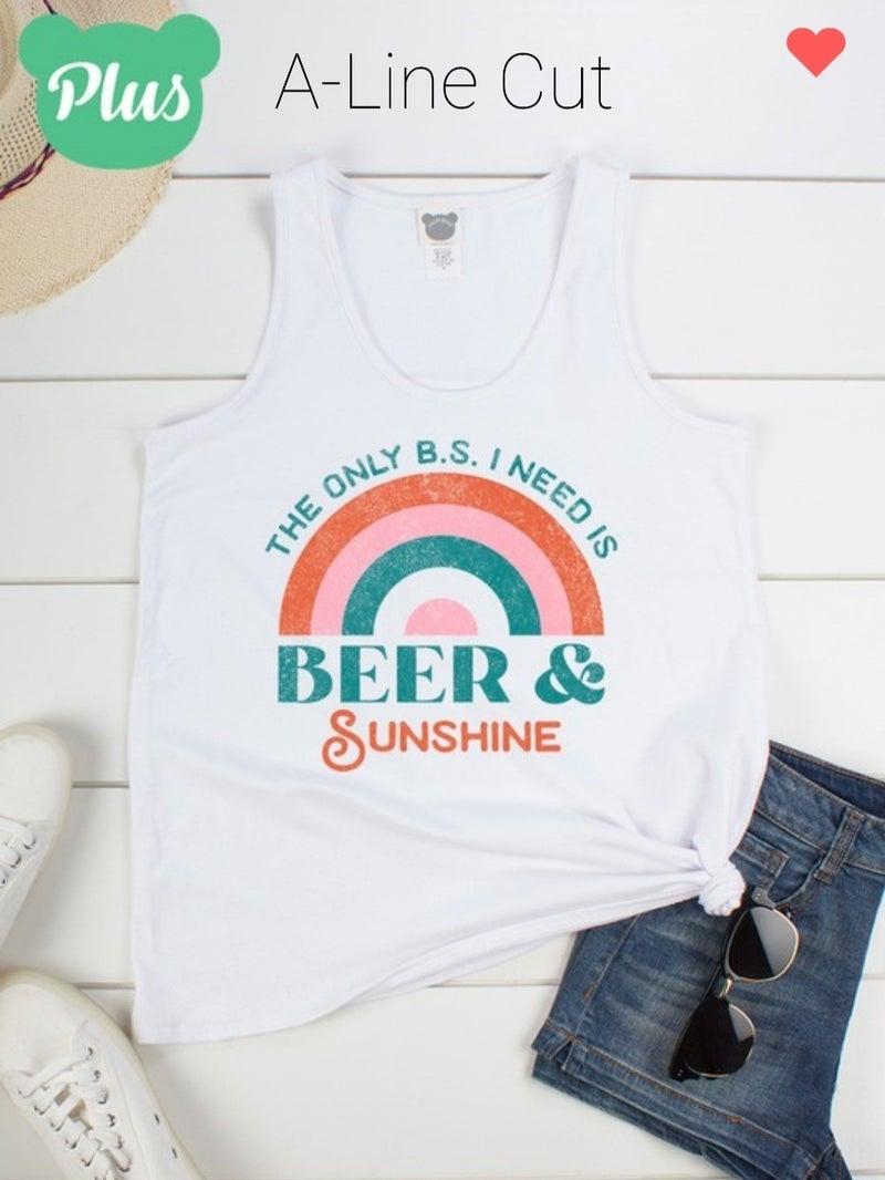 Beer & Sunshine Tank Top