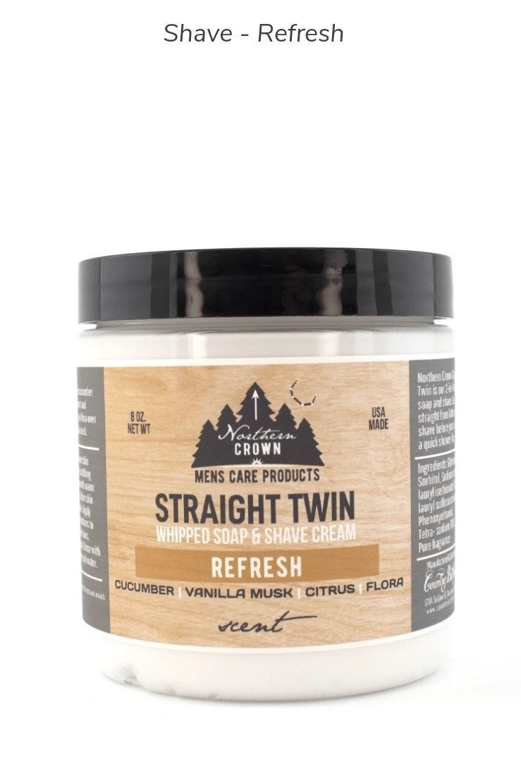Whipped Soap & Shave Cream
