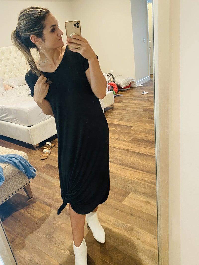 Libby T-Shirt Maxi Dress w/ pockets!