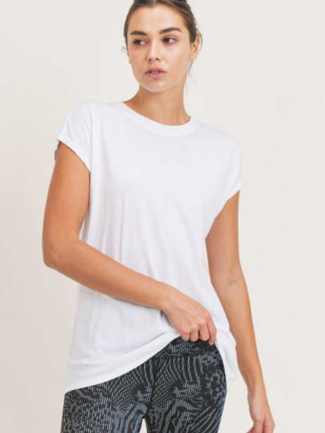 Butterfly Cut Athleisure Top