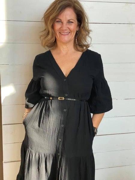 Elizabeth Tiered Midi Dress