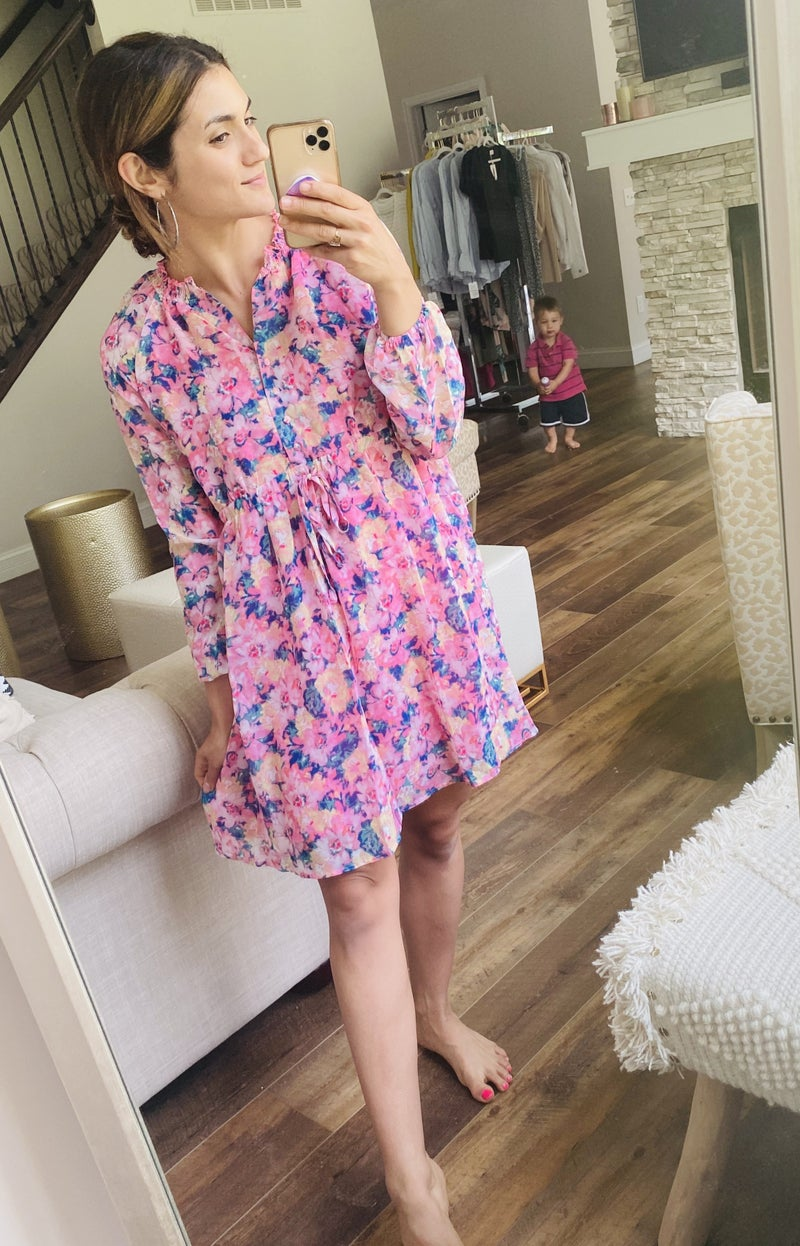 Flirty Fun Floral Dress