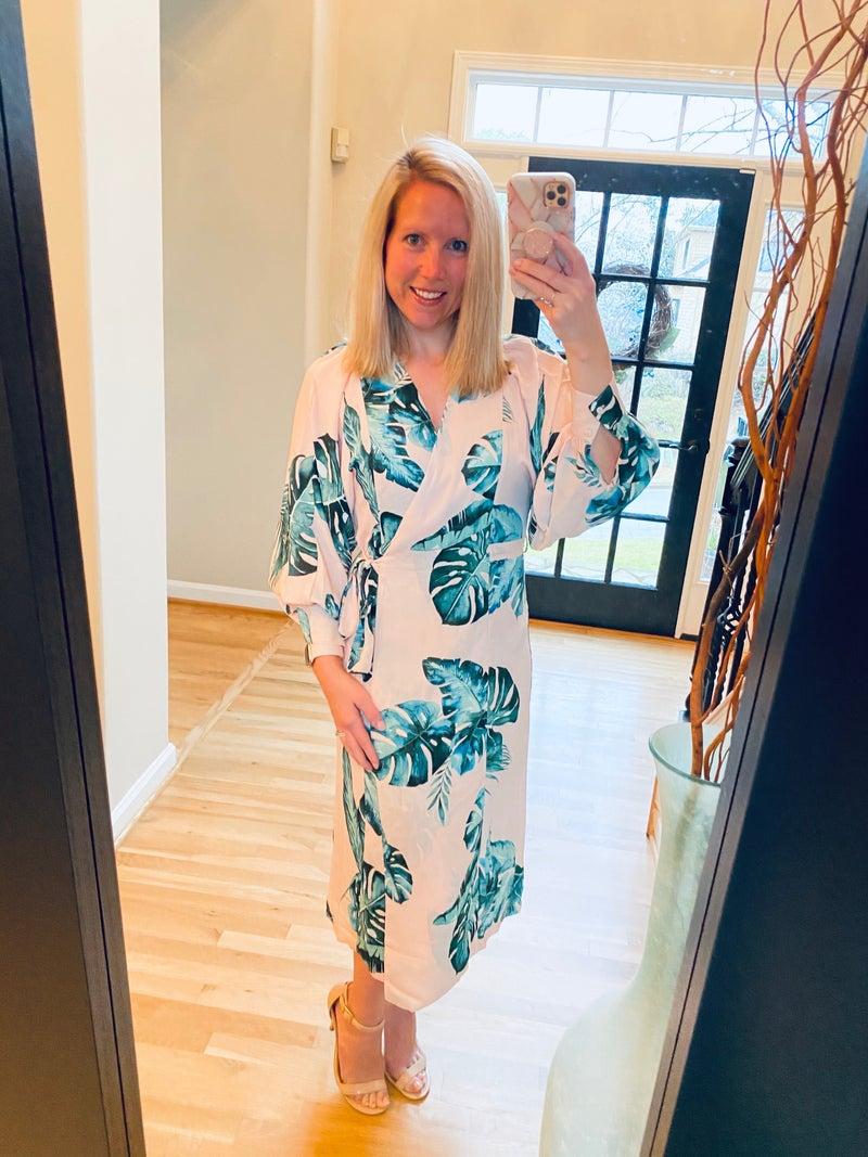Pink Palm Dream Dress