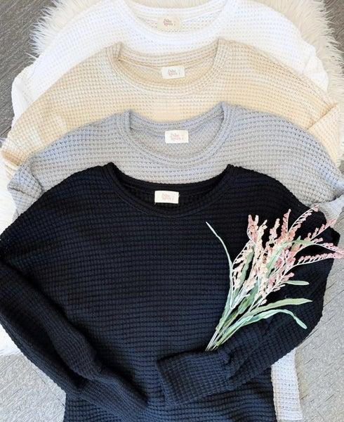 Joyous Nellie Sweater Black