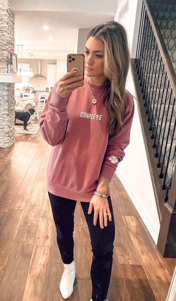 Complete in Christ Sweatshirt