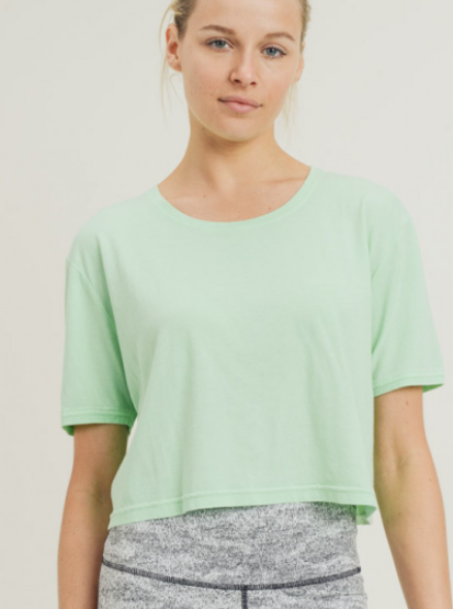 Look At You Athleisure Crop