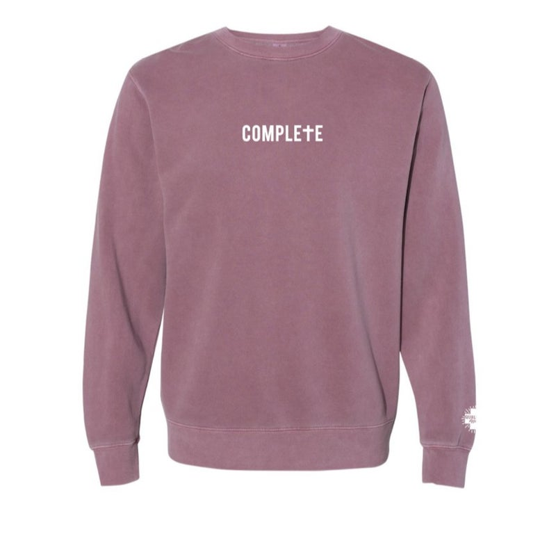 Complete in Christ Sweatshirt