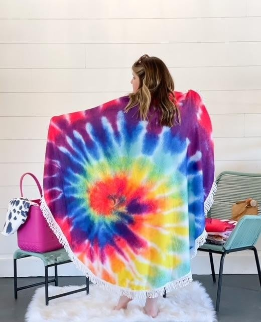 The Bali Beach Towel - Tie Dye