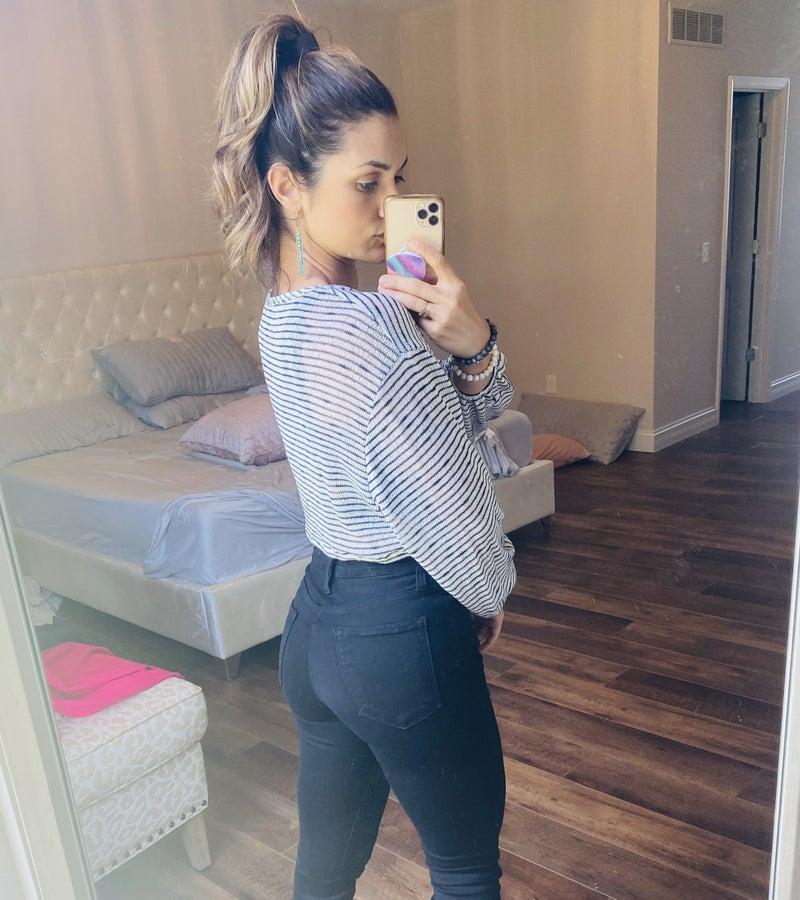 Off Duty Stripe Pullover