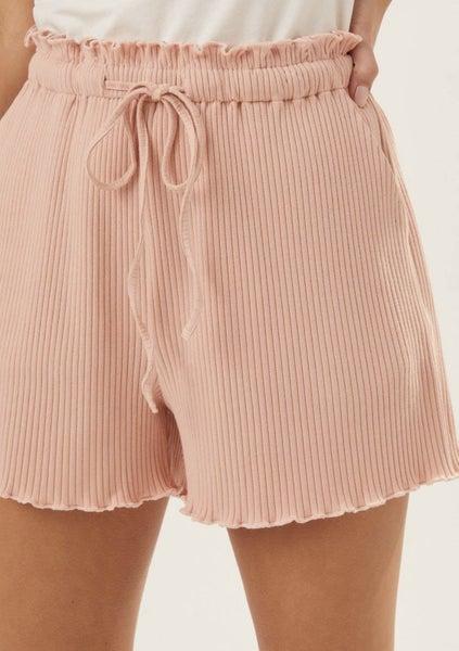 Sunny Days Ribbed Shorts