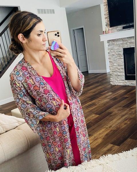 Sydnee Multisnake Kimono
