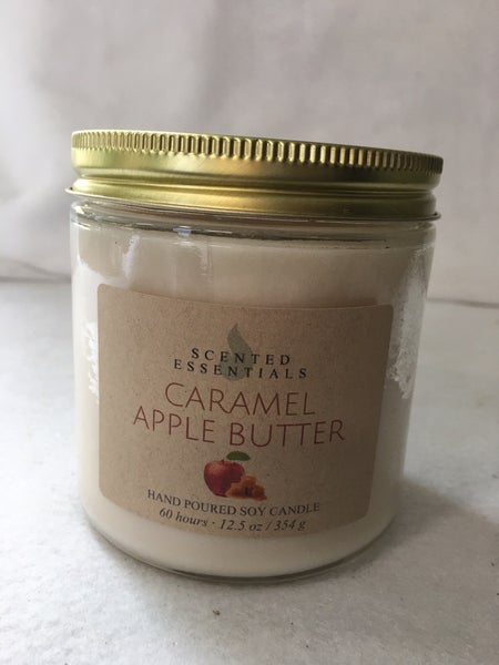 Caramel apple butter candle