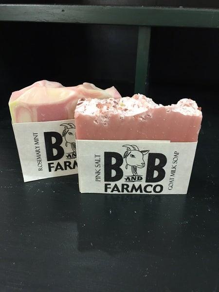 B & B Farm Goat Soap combo #1