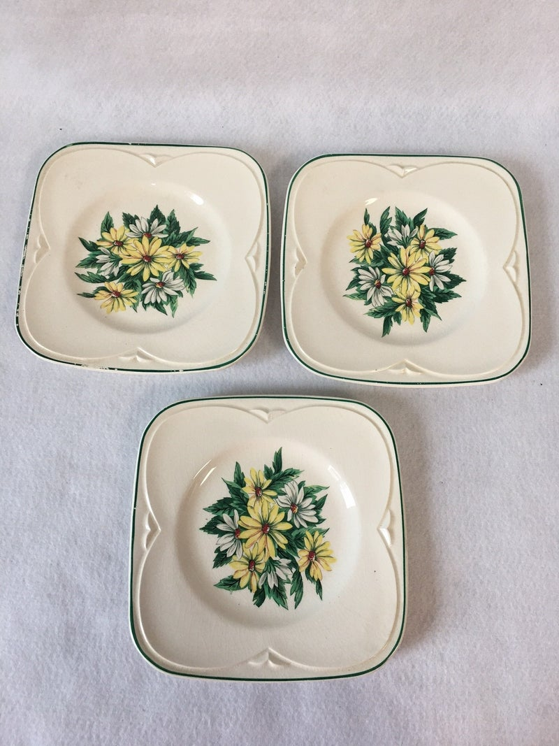 Trio of plates by Knowles