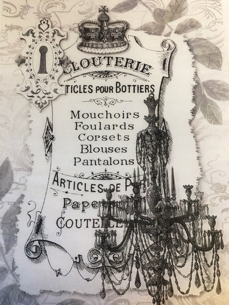 Clouterie tissue paper