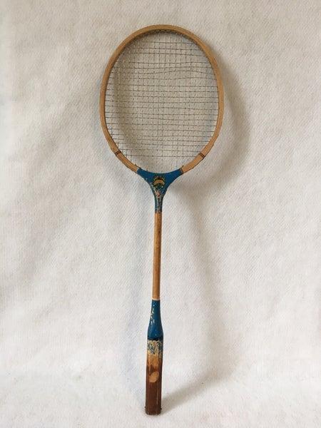 Vintage badmitten racquet