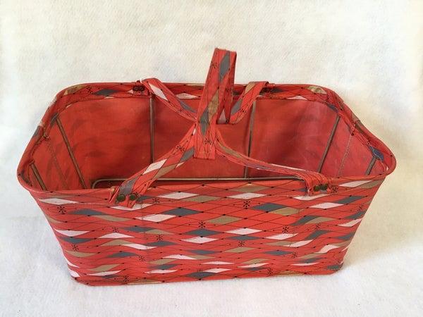 Vintage grocery basket