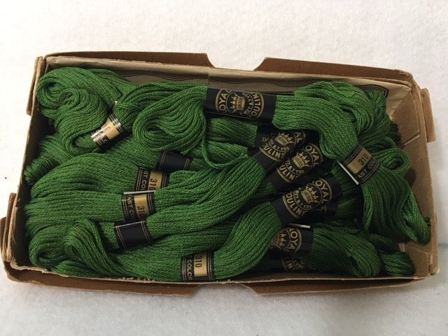 20 skeins  Royal Mouline embroidery thread