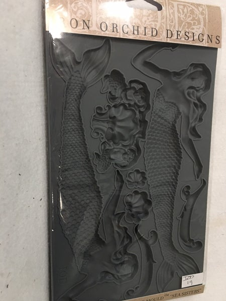 """Iron Orchid Design """"Sea Sisters"""" mould"""