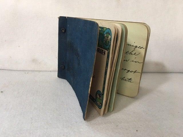 1934 autograph book
