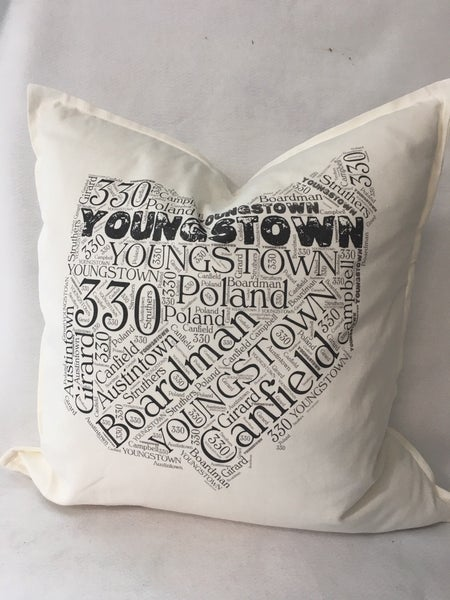 Youngstown community pillow
