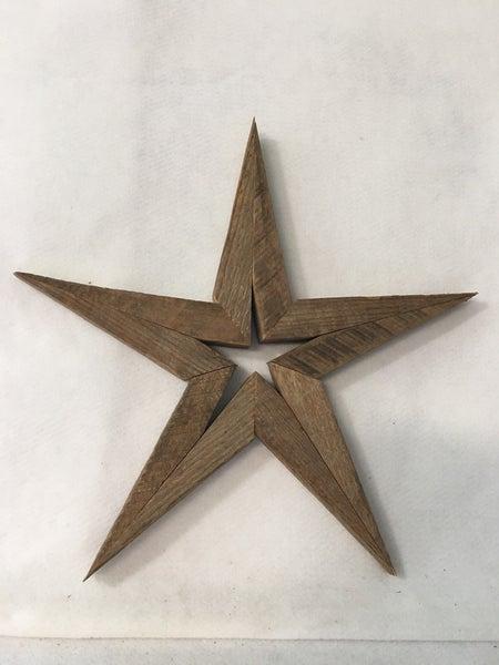 """Wooden star 14"""""""