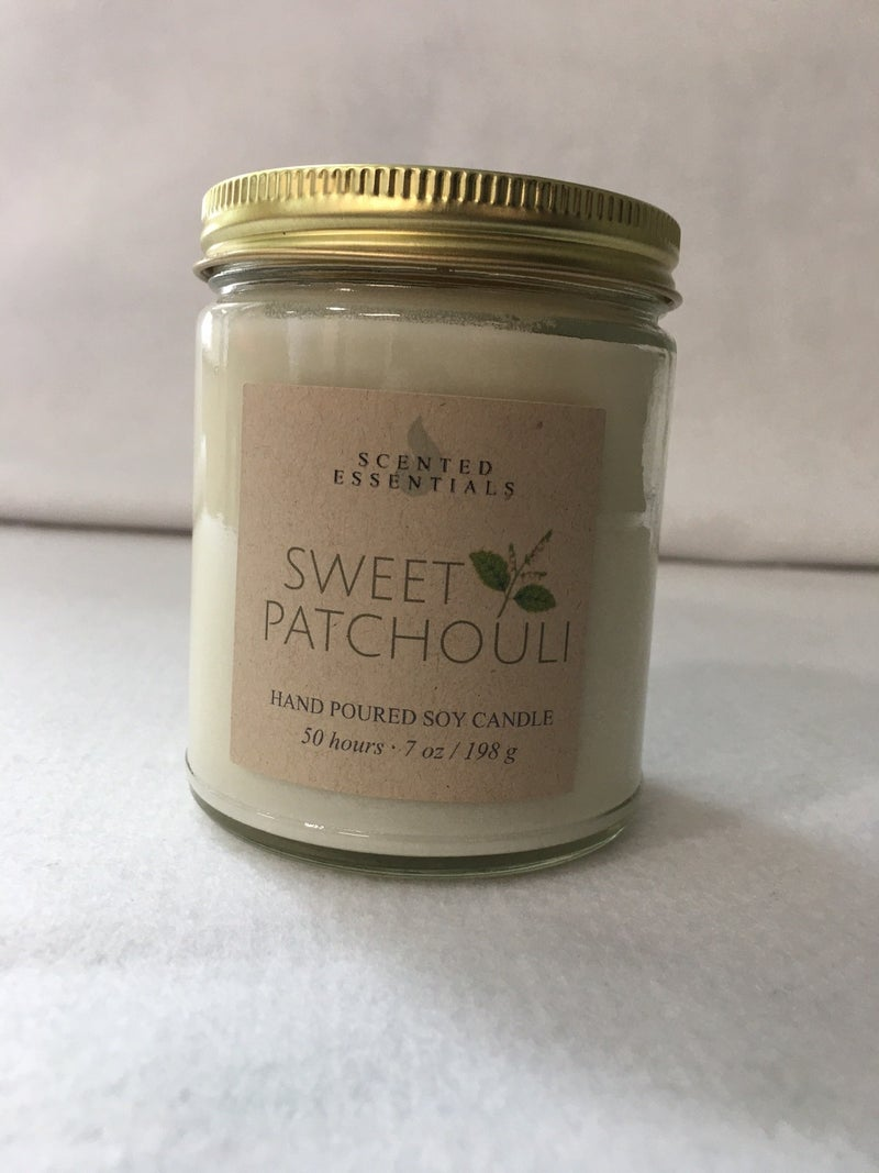 Sweet Patchouli 7 oz candle