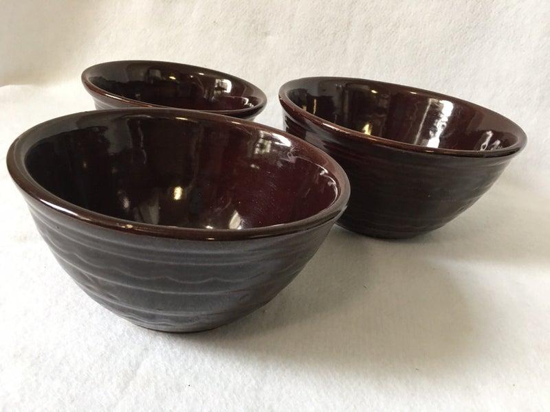 Marcrest stacking bowls, set of 3