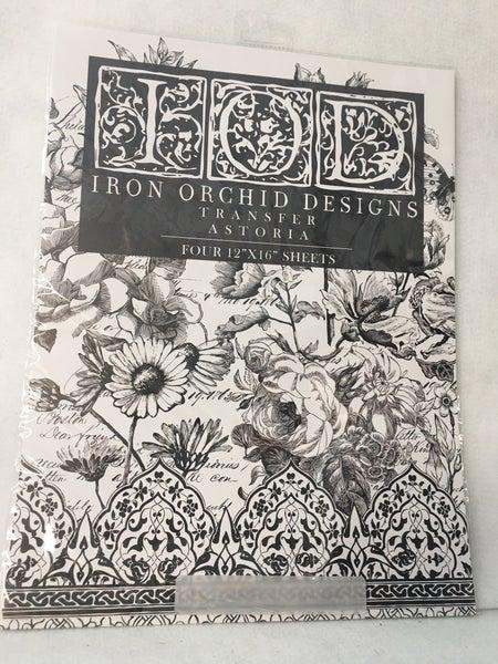 "Iron Orchid Designs ""Astoria"" transfer"