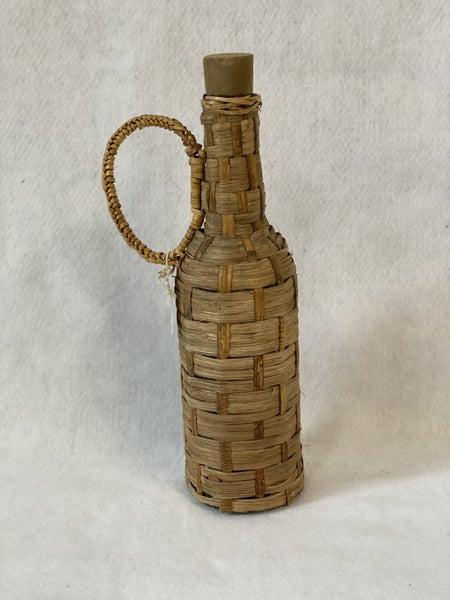 Vintage Demi john bottle with lid