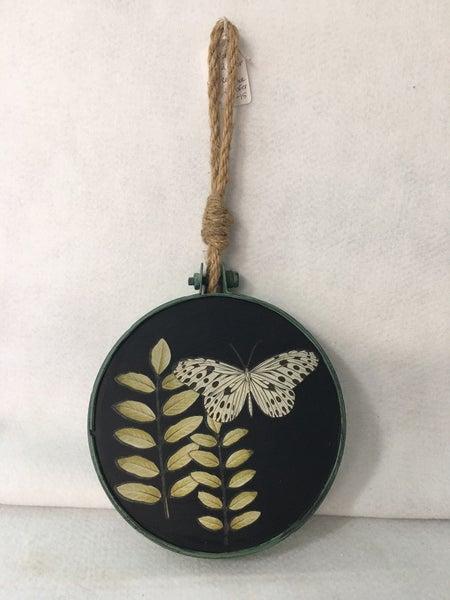 Butterfly hoop hanger