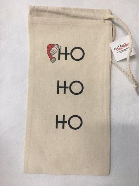 """""""HO HO HO"""" gift bag"""