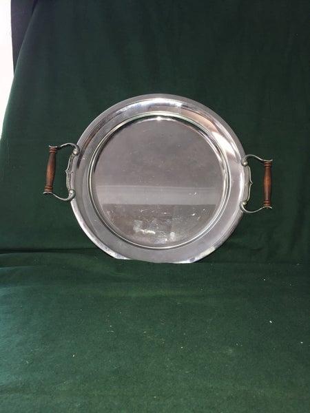 Vintage Aluminum serving tray